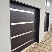Door with Window Slits